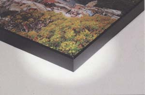 example of a box gallery mount