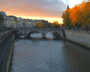 Sunset on the Seine - Click to view details