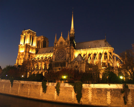 Gothic Arches of Notre Dame