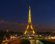 Eiffel Tower at Night - Click to view details