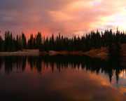 Deer Lake Sunset - Click to view details