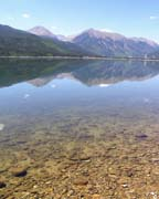 Twin Lakes Reflection - Click to view details